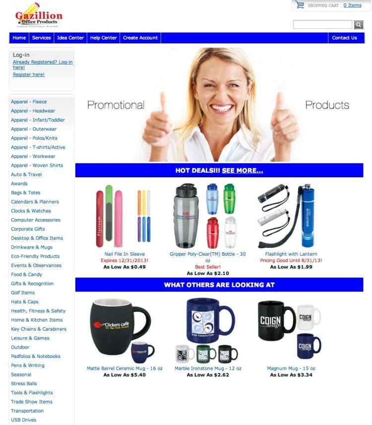 Gazillion Office Products Promotional Products